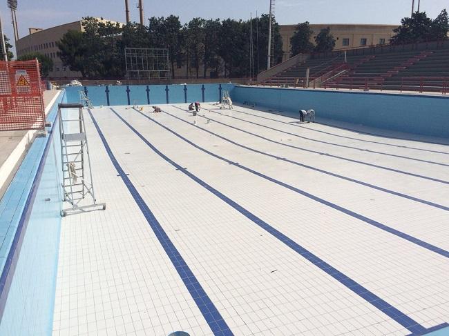 terminati i lavori di riqualificazione vasca esterna piscine comunali