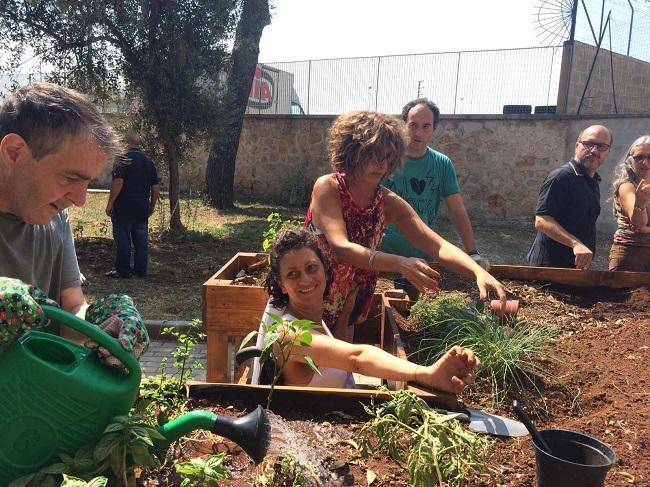 inaugurazione progetto 'tutti pazzi per l'orto'