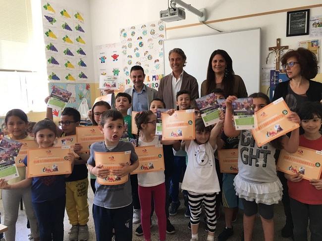 la scuola via duca d'aosta di guagnano riceve premio