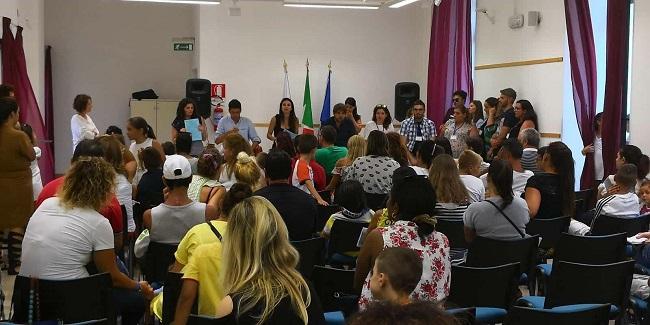 presidente paparella incontra famiglie minori coinvolti campi estivi