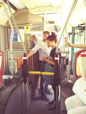 sperimentazione dei tornelli sugli autobus urbani
