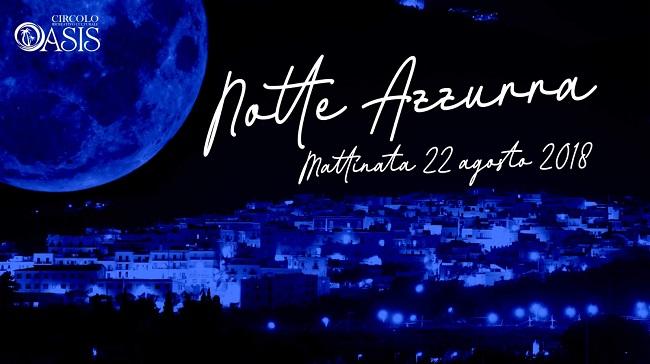 banner notte azzurra mattinata 2018