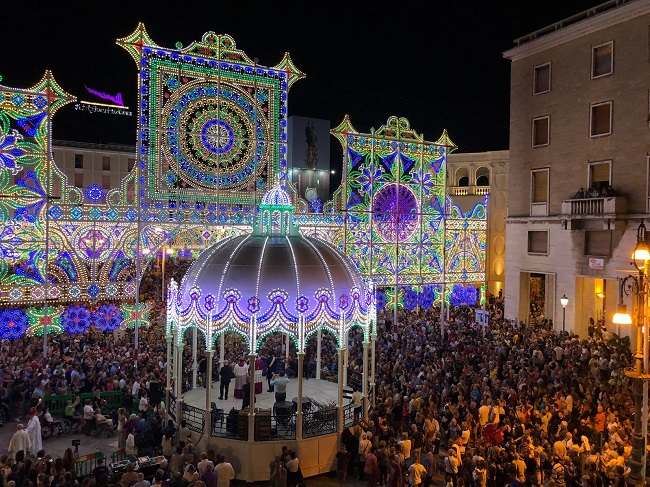 cassa armonica stella (festa sant'oronzo lecce)