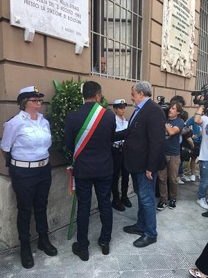 commemorazione del 38^ anniversario strage di bologna