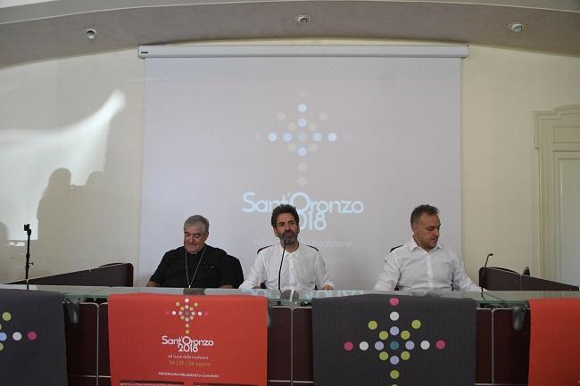 conferenza stampa festa di sant'oronzo
