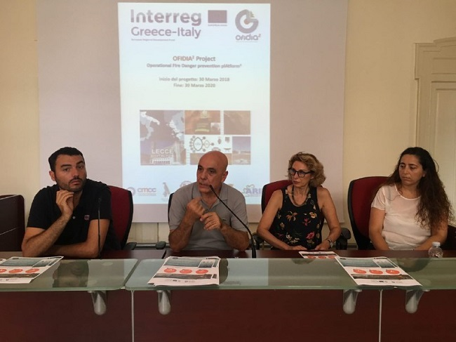 conferenza stampa fire aware
