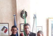 il sindaco cannito incontra i campioni di danza sportiva ilaria e giovanni tesse