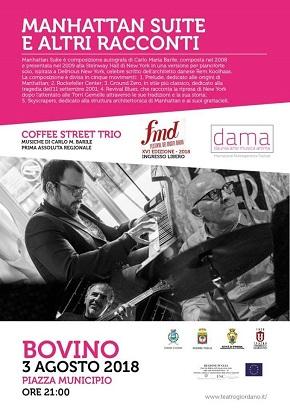locandina coffee street trio
