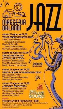locandina mass orl jazz 2018
