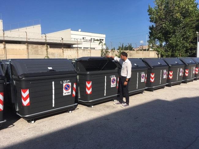 avviato piano di sostituzione cassonetti per strada per la raccolta del materiale indifferenziato