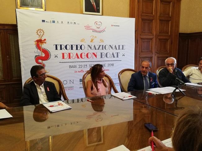 conferenza stampa trofeo nazionale fragon boat