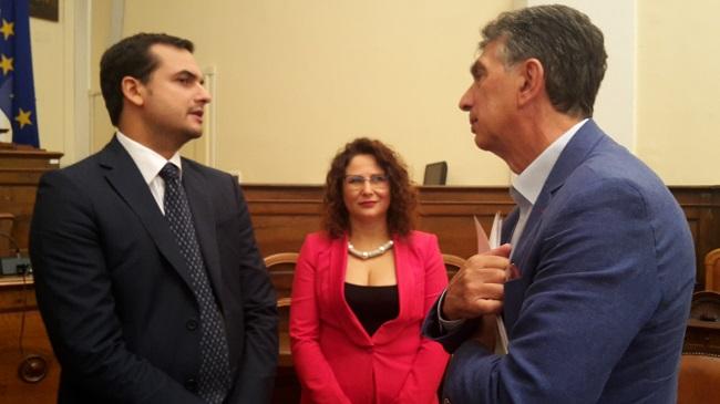 il sindaco di barletta ha incontrato ad andria il sottosegretario sibilia