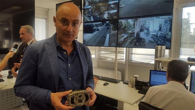 illustrato il nuovo sistema di videosorveglianza in piazza umberto