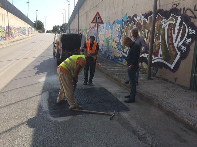 lavori di manutenzione e pulizia dei sottopassi a rischio allagamento