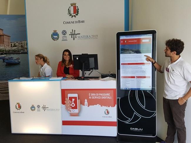 nel padiglione comunale in fiera uno spid point per aiutare i cittadini ad ottenere le credenziali per i servizi online
