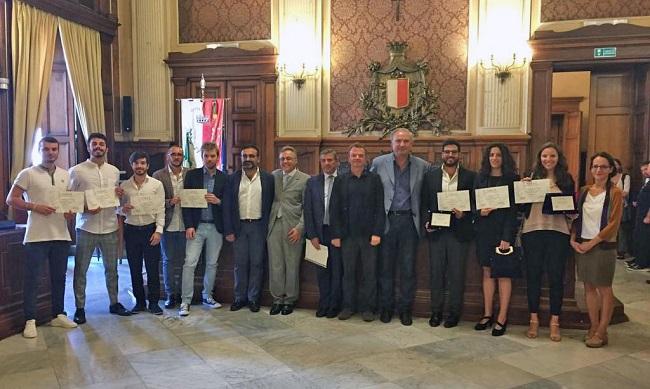 premio aisdet - consegna a palazzo di città