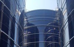 sopralluogo decaro giannini ai lavori presso impianto depurazione bari ovest