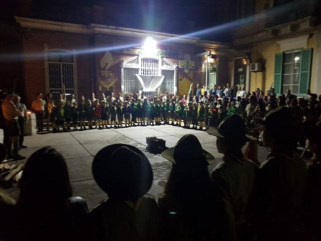 cerimonia dei passaggi gruppo scout assoraider barletta