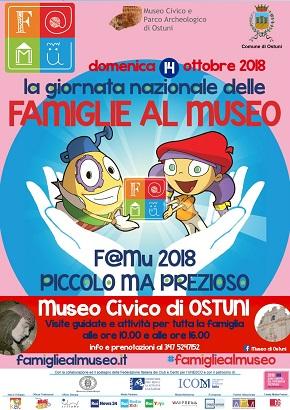 locandina famiglie museo 2018