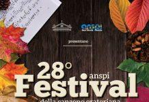 locandina festival anspi della canzone oratoriana