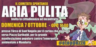manifesto evento comitato spontaneo aria pulita