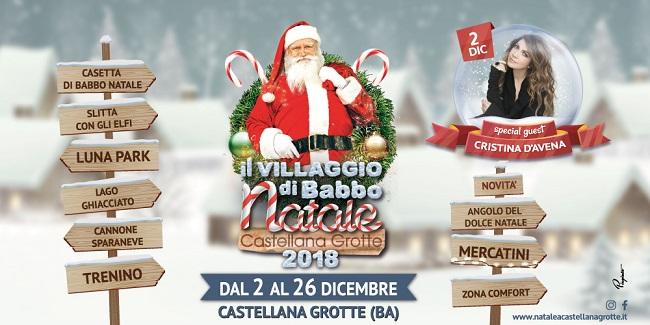 banner villaggio babbo natale 2018