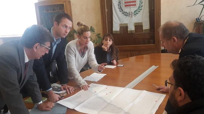 delegazione usa in visita a barletta