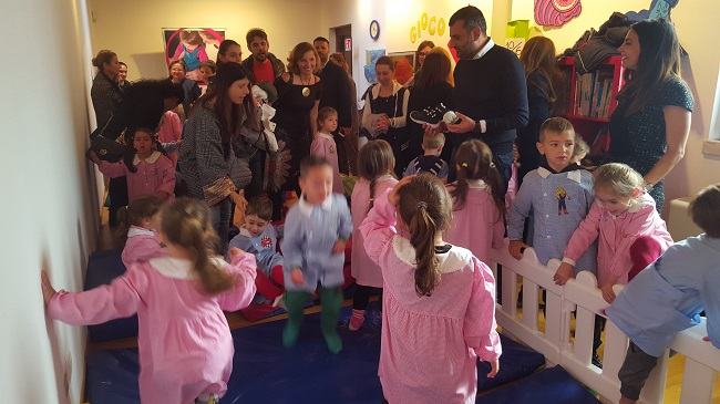 inaugurazione centro per bambinie ragazzi di save the children