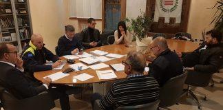 incontro protezione civile barletta
