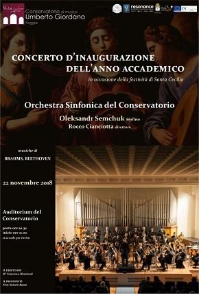 locandina concerto inaugurazione