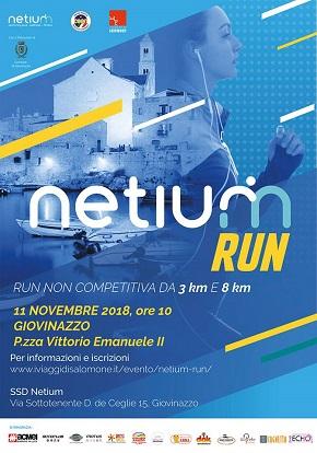locandina netium run