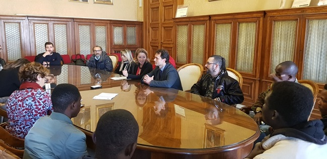 presentazione progetto cultura dell'accoglienza e comunità inclusiva