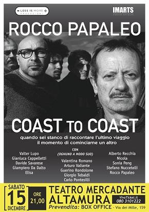 locandina papaleo coast to coast