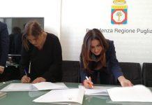 polo innovativo per l'infanzia a carbonara - sigla del protocollo che finanzia il concorso di progettazione