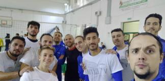 volleyup acquaviva (foto gruppo in allenamento)