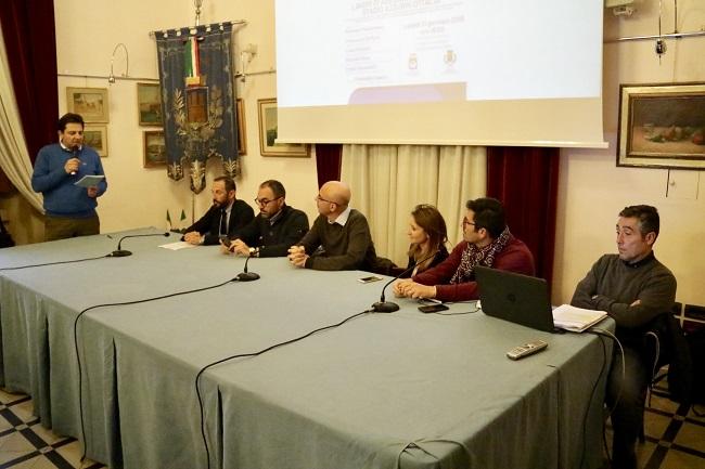 conferenza stampa presentazione lavori stadio azzurri d'italia
