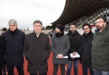 consegna lavori per demolizione tribune stadio 'puttilli'