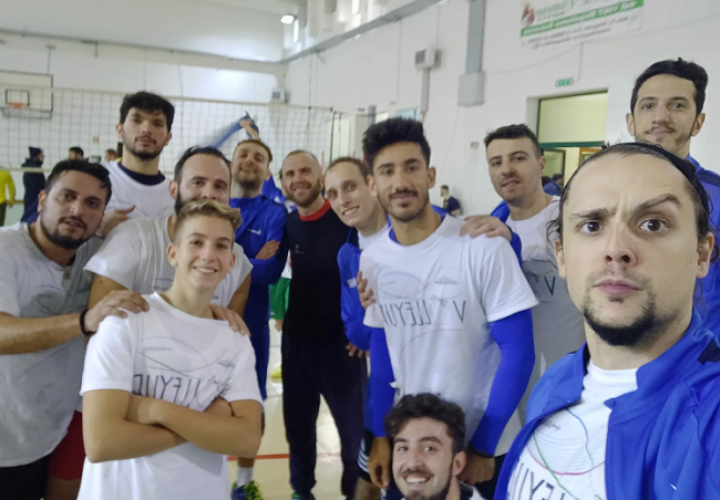 la seconda divisione della volleyup