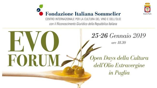 locandina evo forum di fondazione sommelier puglia