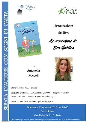 locandina presentazione libro antonella miccoli