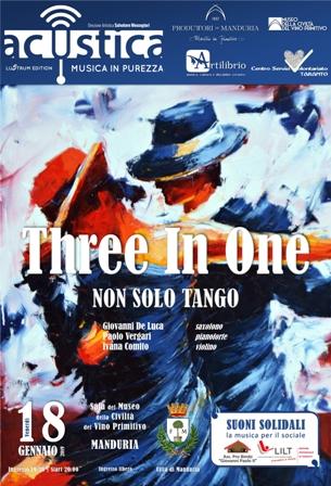 manifesto 'three in one'