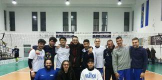 volleyup & barba nera (foto di squadra prima della partita)
