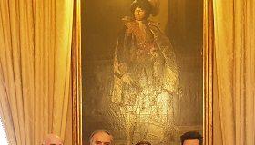 a palazzo di città il rettore dell'università di elbasan skender topi