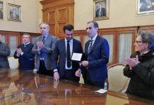 al professor Carlo Bettocchi il riconoscimento dell'amministrazione comunale per l'attività di ricerca scientifica