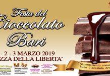 banner festa del ciocolato artigianle di bari