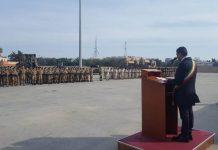 l'intervento del sindaco alla cerimonia per il rientro della pinerolo