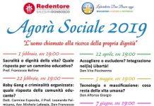 locandina agorà sociale 2019