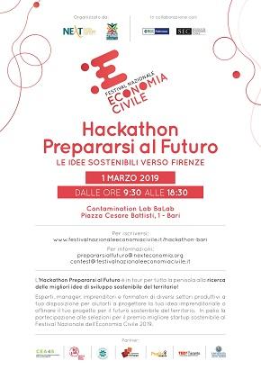 locandina hackathon bari