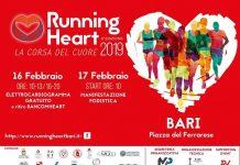 locandina running heart