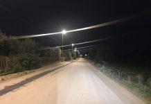 nuovo impianto di pubblica illuminazione in strada torre tresca